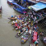 タイの水上マーケットがおもしろかった。