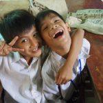 カンボジアの子供たちと遊ぶ。愛センターボランティア記。Vol.1