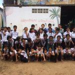 カンボジアで子供たちと遊ぶ。愛センターボランティア記。Vol.4