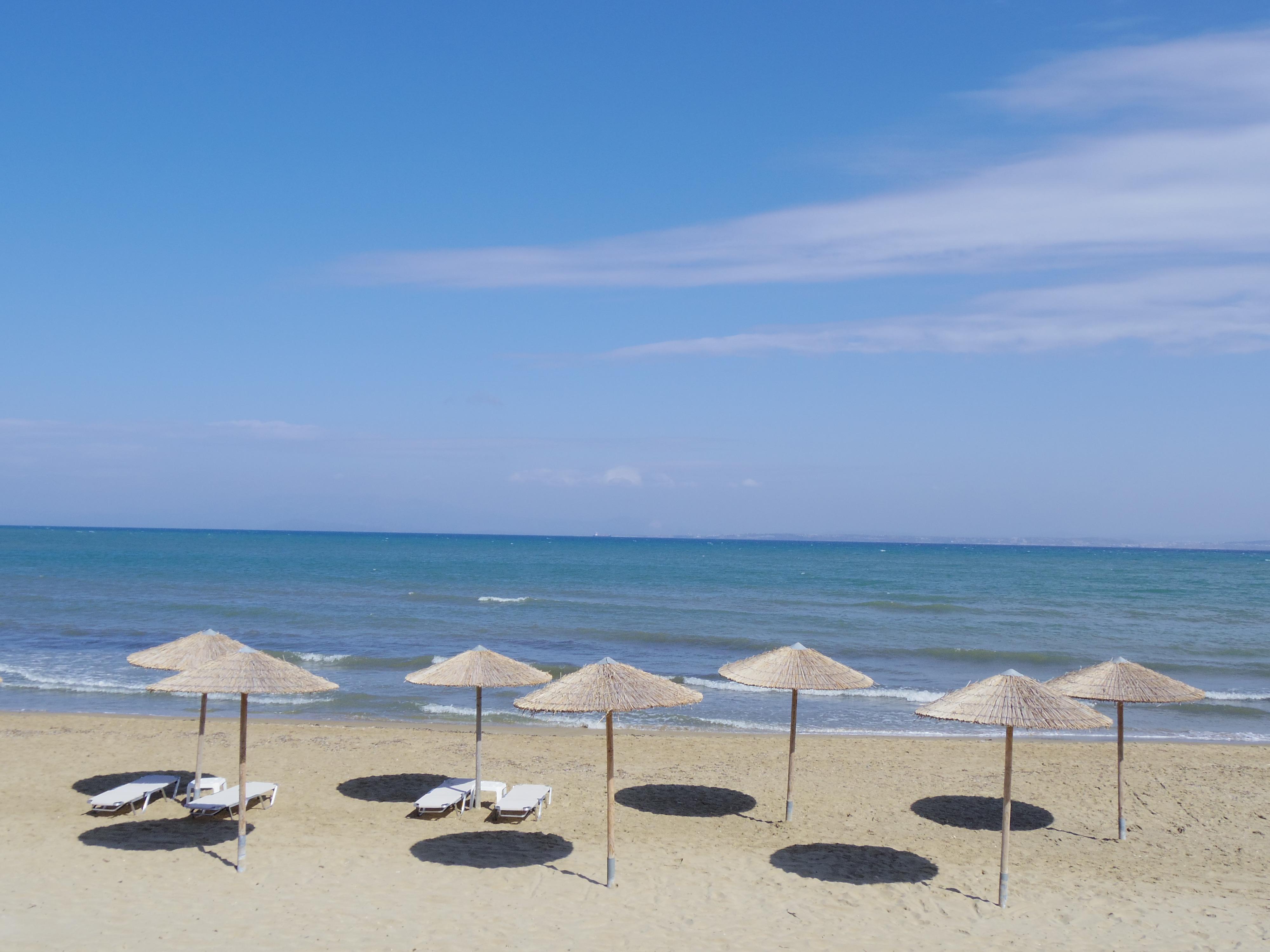 ギリシャ・キオス島に上陸!タクシーすらなくて宿にたどり着けない・・・