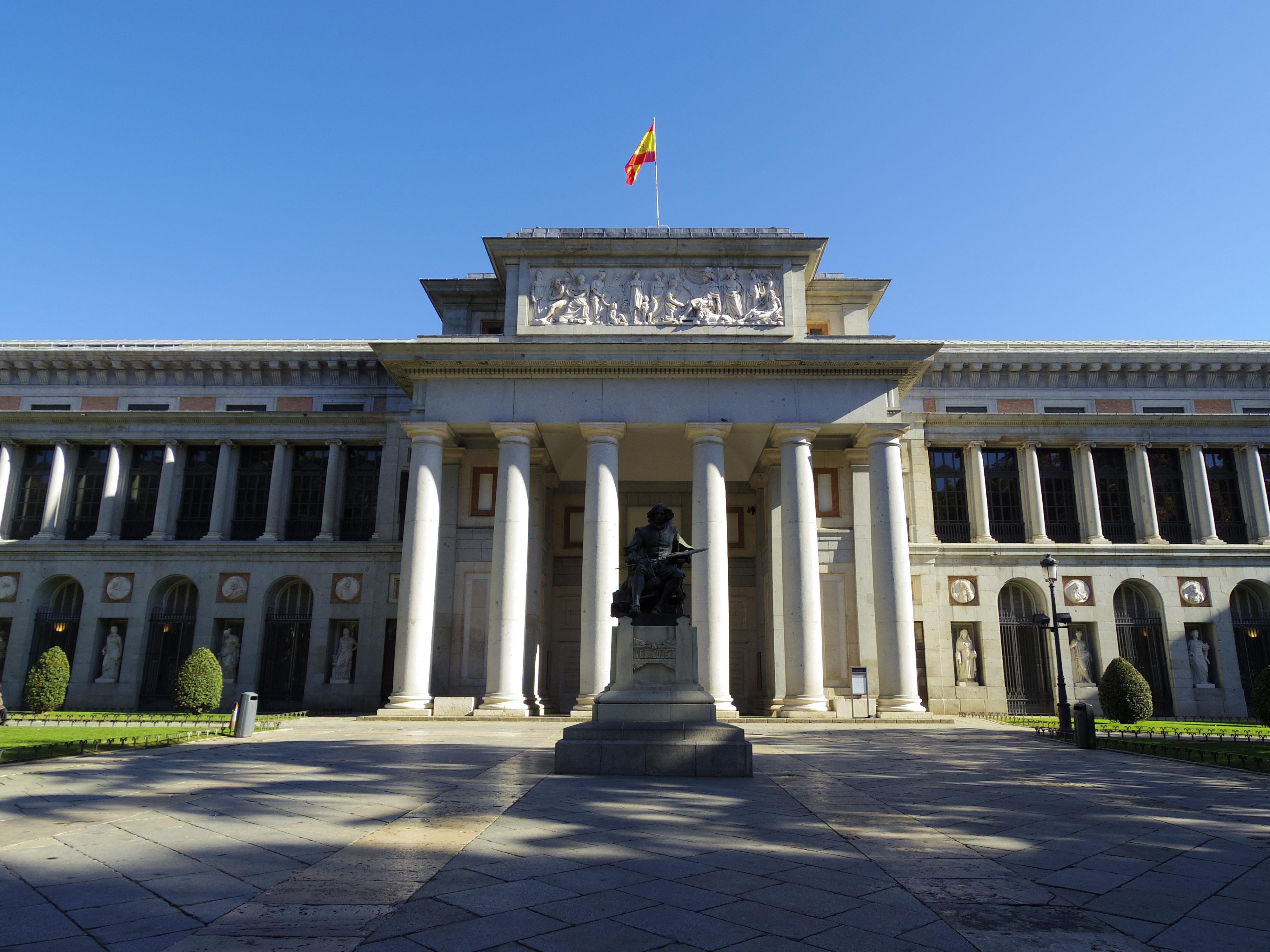 【マドリード観光その2】世界3大美術館のプラド&ソフィア美術館に無料で入る方法。