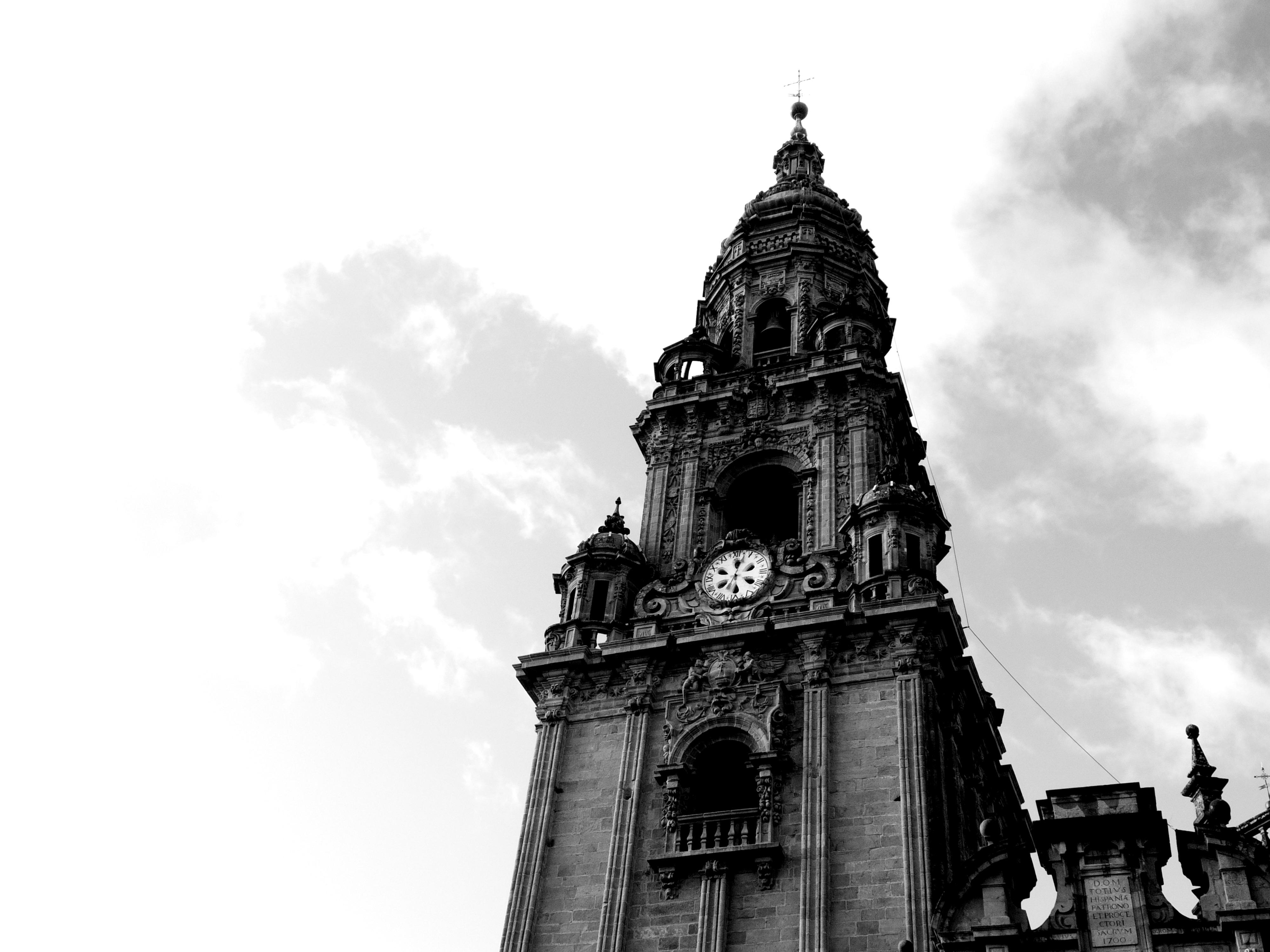 巡礼路のゴール地点。サンティアゴ・デ・コンポステーラはこんなところ。
