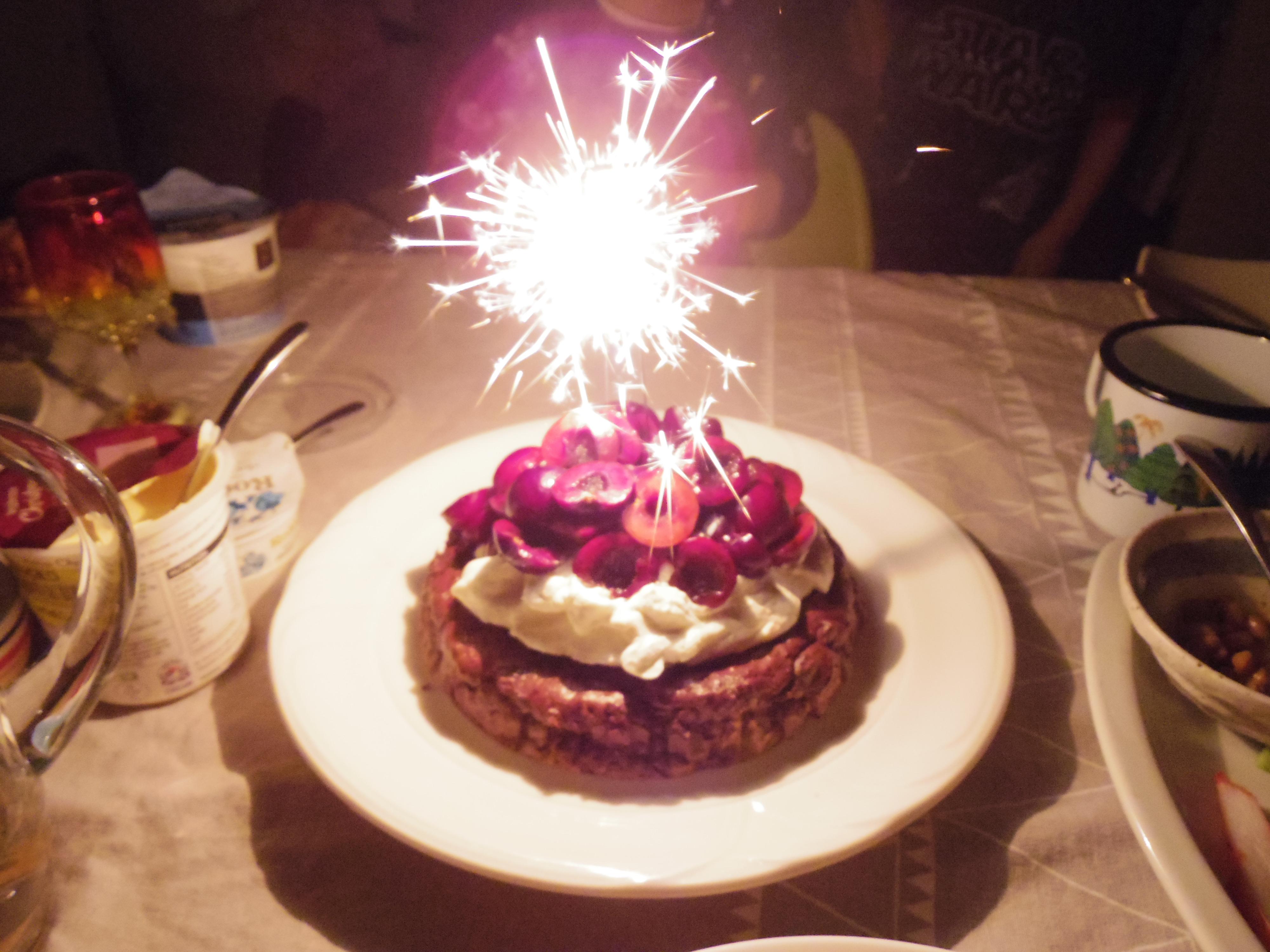リーズ最終夜・・・甥っ子の誕生日&私の送別パーティー。