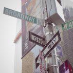 綾部さんに逢えるかな?ブロードウェイとタイムズスクエア。NYはこんなとこ。