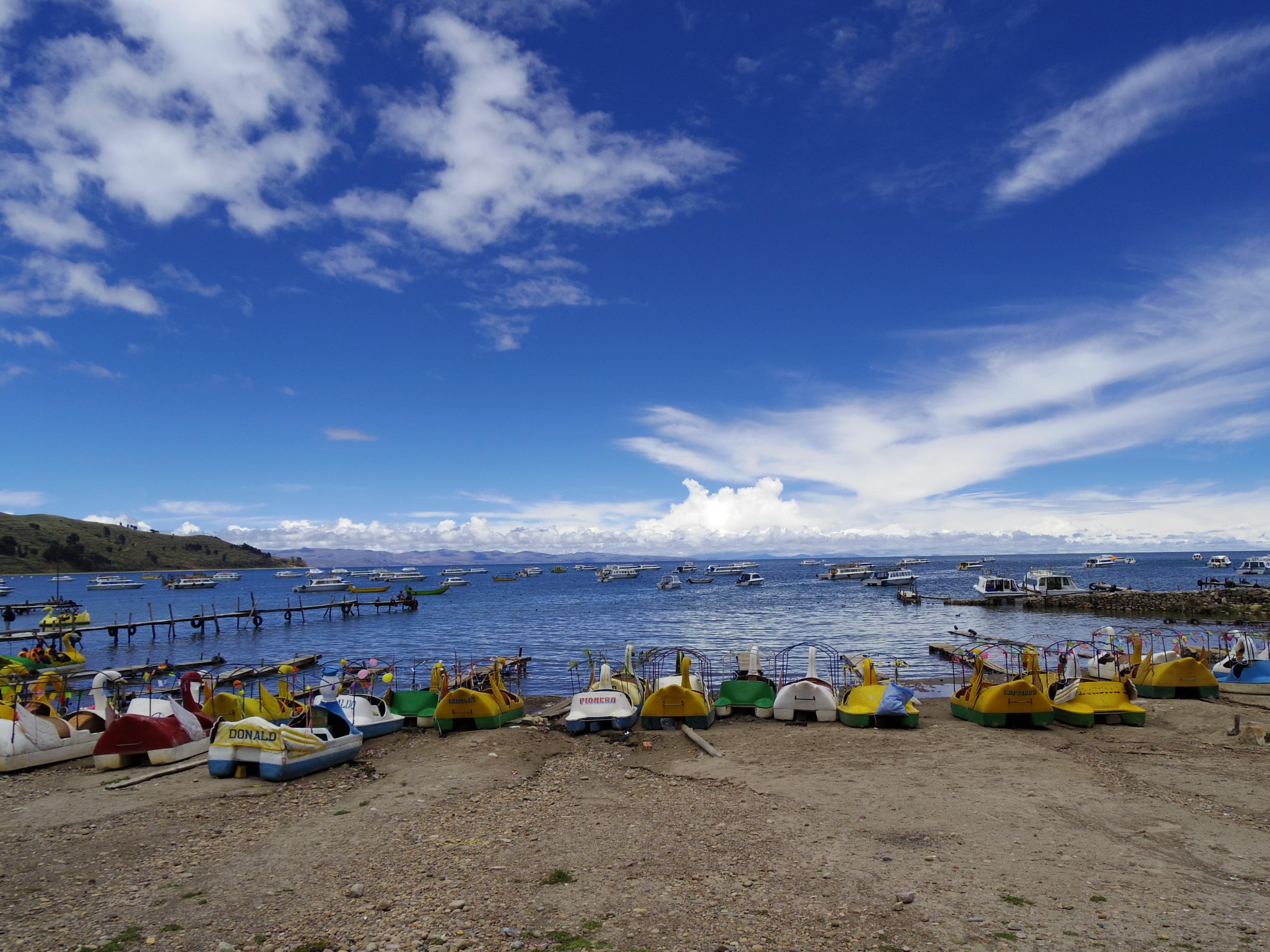 ペルーのプーノからボリビアのラパス経由でウユニへ。24時間バス移動。その2。